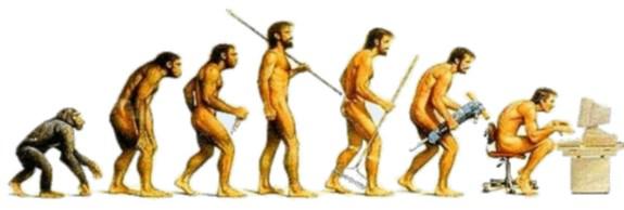 evoluzione-pc L'uomo Sociale -e = Social