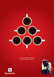 xmas-advertising-nespresso-tree-210x300 Le più originali campagne marketing di Natale!
